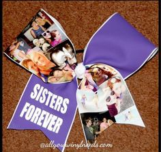 Sister forever bow! How cool is that?