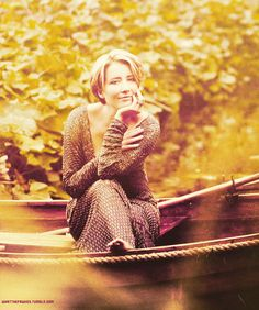 Emma Thompson ~  one of my favorite actresses ever; seems highly approachable, intelligent and hilarious