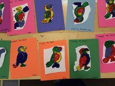 Paint a parrot