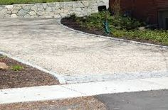 Image result for transition from permeable driveways to sidewalk