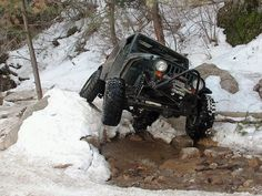 Jeeps and rock crawlin - this will be my new job when I win the lottery