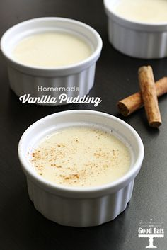 Homemade Vanilla Pudding- ditch the box and make it at home with just a few simple ingredients