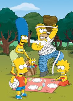 The Simpsons: just like my family :]