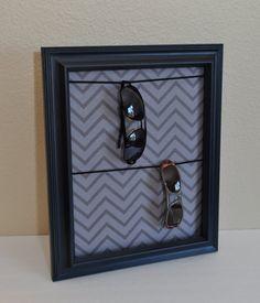 Sunglasses Eyeglasses & Watch Hanging Organizer Display for Men or Women