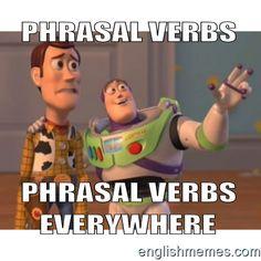 Phrasal verb nightmare