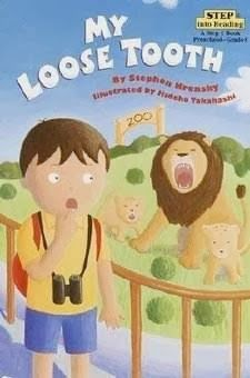 My Loose Tooth is at the beginning first grade reading level on this list of books about losing teeth.