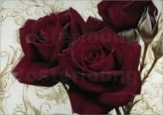 bright red roses Posters by Igor Levashov