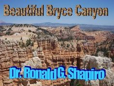 Beautiful Bryce Canyon by Dr. Ronald Shapiro, via Slideshare