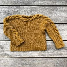 Tuvasweater – Knitting for Olive Knitting For Kids, Baby Knitting Patterns, Crochet Patterns, Baby Love, Cable Knit, Baby Dress, Knitwear, Knit Crochet, Kids Outfits