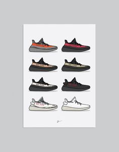 Iphone Wallpaper Aesthetic- Image of Yeezy 350 Collection Print Sneakers Wallpaper, Shoes Wallpaper, New York Fashion, Teen Fashion, Runway Fashion, Fashion Models, Hype Wallpaper, Iphone Wallpapers, Cadre Photo