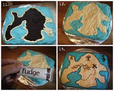 How-To for Treasure Island Cake