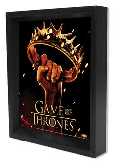 Game of Thrones Crown Framed Graphic Art