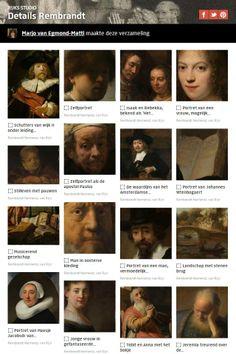 Rijksstudio set of the week: Details Rembrandt, made by Marjo van Egmond- mattie