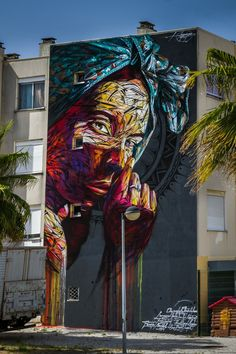 RT @GoogleStreetArt: New Street Art by Hopare found in Quinta do Monte Portugal…