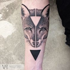 Marie Terry, a London based Tattoo Artist — Symmetrical Inspired Tattoos By Valentin Hirsch