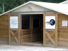 Mulligans Run Farm Barn...This would work great for the goats