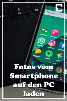 Fotos vom Smartphone auf den PC laden – Finance tips for small business Savings Planner, Budget Planner, Handy Hacks, Wallpapers Whatsapp, Handy Smartphone, Der Computer, Usb, Mobile Wallpaper, Android Apps