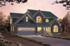 House Plan 5633-00244 - Country Plan: 2,764 Square Feet, 4 Bedrooms, 2.5 Bathrooms