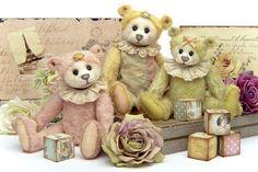 A Fabulous Family Of Bears By Helga Torfs