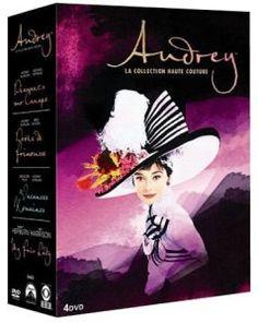 Best of Audrey Hepburn : My fair lady + Diamants sur canapé + Vacances romaines + Drôle de frimousse – coffret 4 DVD