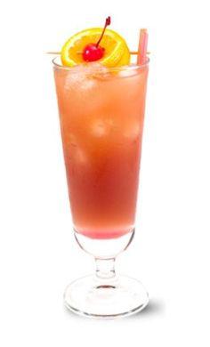 sex on the beach:1 1/2 oz Smirnoff® vodka, 1/2 oz peach schnapps, 2 oz cranberry juice, 2 oz pineapple juice  (can sub Midori or Chambord for Schnapps)     Sex on the Beach recipe http://www.drinksmixer.com/drink583.html#ixzz1n55HIL6I