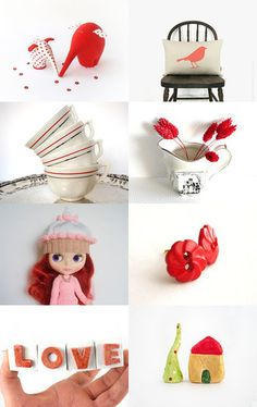 Red by Annemarie on Etsy--Pinned with TreasuryPin.com