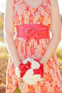 happy pretty bridesmaid dress