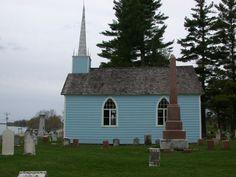 The Blue Church, near Prescott, Ontario
