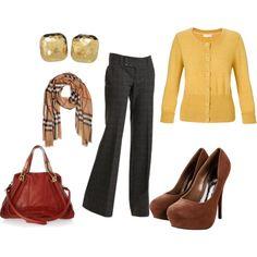 Cozy work clothes