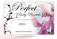 Perfect Party Rentals Plus Website http://perfectpartyrentalsplus.com/