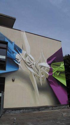 Peeta - Italian Street Artist - Frontier Project - Bologna (IT) - 07/2014 - |\*/| #peeta #streetart