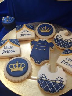 Royal Prince Baby Shower Party Ideas   Photo 6 of 12   Catch My Party