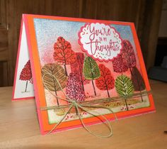 Creating With Joan: Stampin' Up! Totally Trees.  DOstamperSTARS DSC#200