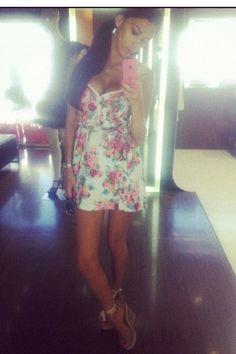 Girly today! Sun dress
