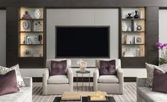 Amazing living rooms decoration by Dallas Design Group | See more : http://www.homeandecoration.com | #homeandecoration #decorationideas #topinteriordesigners
