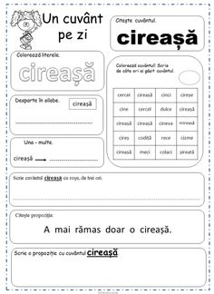 Printable Worksheets, Printables, Preschool At Home, Fun Crafts For Kids, School Lessons, Word Of The Day, After School, Vocabulary, Homeschool