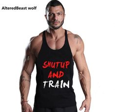 #BestPrice #Fashion New Men tank tops Bodybuilding fitness gyms clothing Men's Golds gyms fitness Stringer gyms Tank Top sportwear…