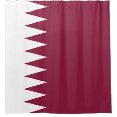 qatar flag shower curtain bathroom accessories home living
