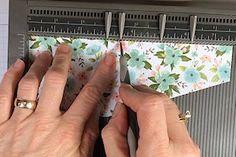 Pleated Skirt Fold Tutorial - Splitcoaststampers