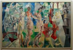 Robert Delaunay; City of Paris, 1911, MNAM, Paris