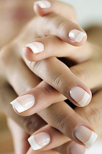 #french #nails #manicure (by fotalia) | used to be my weekly thing...until *cough*