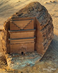 Qasr Farid Tomb at ancient Hegra / Madain Saleh (UNESCO World Heritage Site), Sa… - Educational Architecture Ancient Mysteries, Ancient Ruins, Ancient Artifacts, Ancient Egypt, Ancient History, Ancient Buildings, Ancient Architecture, French Architecture, Garden Architecture