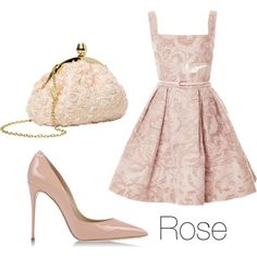 """""""Rose"""" by thegreaterfool on Polyvore"""