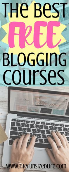 These courses helped me grow my blog, make money from blogging and all around see huge success in the blog world! #blogging #bloggingcourses #blog #affiliatemarketing #blogincome