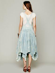 Levi's Vintage Denim Apron Bib Dress at Free People Clothing Boutique