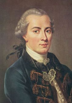 Immanuel Kant - German Enlightenment philosopher - wrote about aesthetics
