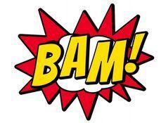 Grande parte dos super heróis surgiram dos quadrinhos, e algumas coisas são essenciais, como por exemplo as onomatopéias que representam exp... Superman Party, Batman Vs Superman, Superhero Party, Comic Balloon, Wonder Woman Party, Sunshine Quotes, Deco Kids, Watch The Originals, Avengers Superheroes