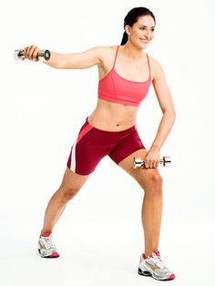 Beginner move: the One-Arm Reverse Flye - it works your shoulders and mid-back, so give it a go!
