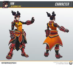 "ArtStation - Yan ""the burning soul"" (Fan-made Character for Overwatch), ""YIZARD"" Dani Sepúlveda Mata"