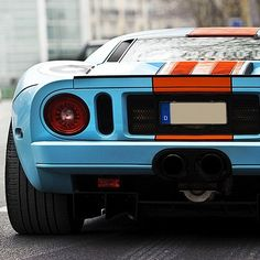 The powerful Ford GT40
